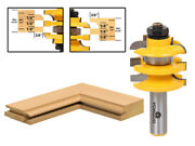 Cove Stacked Rail And Stile Router Bit - 1/2 Shank - Yonico 12119