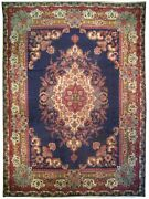 Authentic Wool Rnr-3727 9and039 6 X 12and039 1 Persian Tebriz Rug