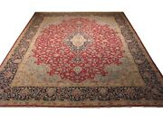 Authentic Wool Rnr-5466 9and039 1 X 13and039 2 Persian Kirman Rug