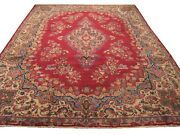 Authentic Wool Rnr-6687 8and039 3 X 11and039 8 Persian Kirman Rug