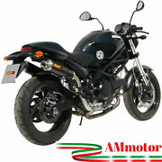 Mivv Ducati Monster 695 2008 08 Exhaust Gp Carbon Motorcycle High