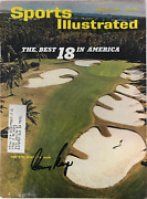 Gary Player Autographed / Signed Sports Illustrated - February 15 1965