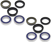 New All Balls Front Wheel Bearings Seals For 2006-2010 Yamaha Wolverine 450 4x4