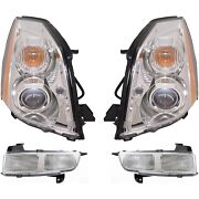 New Auto Light Kit Driver And Passenger Side Lh Rh Cadillac Dts 2006-2011