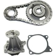 Timing Chain And Water Pump Kit Fits Chevy S10 Cavalier Beretta Gmc Sonoma 2.2l