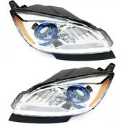 Headlight For 2012-2017 Buick Verano Pair Driver And Passenger Side Capa