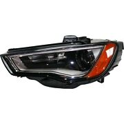 Headlight For 2015-2016 Audi A3 Driver Side