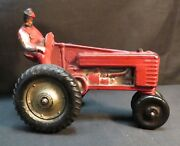 Vintage Arcor/auburn Rubber Safe Play Toys Red Tractor