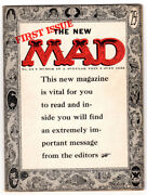 Mad 24 6.5 1st Magazine Sized Issue Tan/off-white Pages 07/55