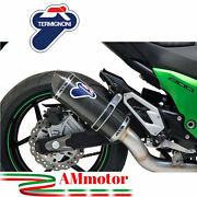 Exhaust Termignoni Kawasaki Z 800 2013 Motorcycle Slipon Relevance Carbon Racing