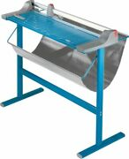Dahle 448s Premium Rolling Paper Trimmer With Floor Stand 51 Cut Length