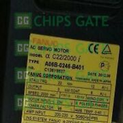 1pcs Used Fanuc Motor A06b-0246-b401 Tested In Good Condition
