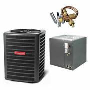 Goodman - 2 Ton Air Conditioner + Coil Kit - 14.5 Seer - 21 Coil Width - For...