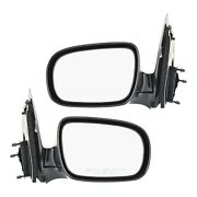 Manual Remote Mirror Set Of 2 For 1997-2005 Chevrolet Venture Manual Folding