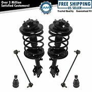Front Loaded Strut Spring Assembly Sway Bar Ball Joint Kit 6pc For 06-08 Pilot
