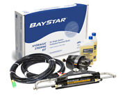 Baystar Compact Hydraulic Steering System Kit W/hoses