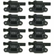 Ignition Coil Pack Kit Set Of 8 For Chevrolet Pontiac Gmc Buick Cadillac Models