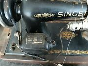 Antique Singer Electric Sewing Machine 1930's Model 66