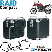 Pair Suitcases Aluminum Compact 33+ 39+ Frames Bmw 1200 R Gs Adv And039 05and039/13