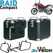 Pair Suitcases Aluminum Compact 33+ 39+ Frames Bmw 1200 R Gs K25 And039 03and039/12