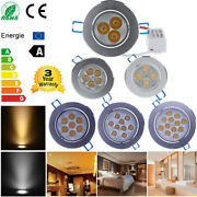 Dimmable 9w 12w 15w 21w 27w 36w Led Recessed Ceiling Downlight Spot Fixture Lamp