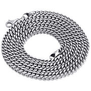 Real 10k White Gold 3d Hollow Franco Box Link Chain 5.50mm Necklace 26-40 Inches