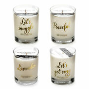For Your Cozy Sunday Soy Wax Scented Luxurious Candles - 11 Oz 4 Candle Set