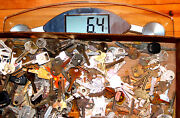 Over 6 Pounds Of Antique Keys Cars, Locks And More