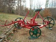 1906 Chattanooga F50 Reversible Plow tennessee Chattanooga Plow Company