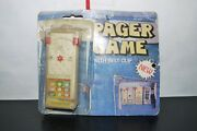 80's Vintage Pager Cic Tac Toe Skill Ball Game Pachinko Hand Held