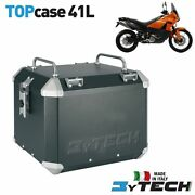 Top Case Aluminum 41 L With Luggage Rack Ktm 990 Adventure S And03906and039/08 Mytech