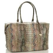 Sold Out Nwt Brahmin Carryall Luggage Iridescent Opal