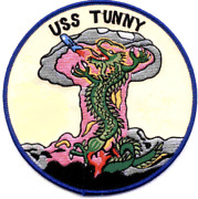 5 Uss Navy Ssg-282 Tunny Embroidered Patch