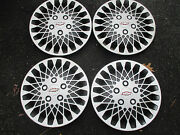 Genuine Chevy Celebrity 14 Inch Mag Style Hubcaps Wheel Covers Set
