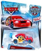 Disney Cars Ice Racers Vitaly Petrov Diecast Car [special Icy Edition]