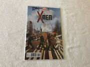 X-men 001 1 Beatles Abbey Road Variant Marvel Comic Book Signed By Brian Wood
