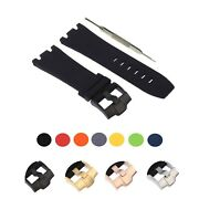 28mm Silicone Watch Band Fits For Audemars Piguet Royal Oak Offshore W/ Tool