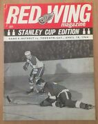 1963-64 Nhl Stanley Cup Finals Program Toronto Maple Leafs @ Detroit Red Wings
