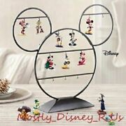 Disney D23 Expo Hallmark 2014 Year Of Disney 12 Ornament Complete Set With Stand