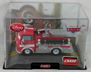 Disney Store Pixar Cars 2 Red Chase Fire Engine Diecast Collectors Replica Truck