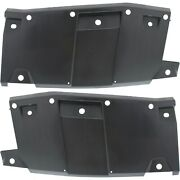 New Set Of 2 Bumper Face Bar Protectors Rear Driver And Passenger Side Lh Rh Pair
