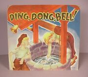 Vintage Childrenand039s Pop Up Book Ding Dong Bell Paper Toy By Geraldine Clyne