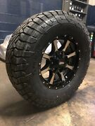 17x9 Moto Metal Mo970 33 Fuel At Wheel And Tire Package 8x170 Ford Super Duty