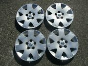 Factory 2004 To 2006 Nissan Quest 16 Inch Bolt On Hubcap Wheel Covers Set