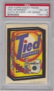 1973 Topps Wacky Packages Cloth Tied Detergent Psa 6 Ex/mt Series 1 Packs