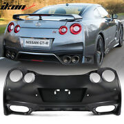 Fits 09-22 Nissan R35 Gtr Gt-r Upgrade 09-16 To 17+ Rear Bumper Cover Conversion