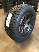 5 20x9 Fuel D665 Shok Gray 33 At Wheel And Tire Package 5x5 Jeep Wrangler Jk Jl