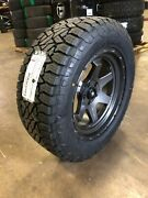 20x9 Fuel D665 Shok Gray 33 At Wheel Tire Package 6x5.5 For Toyota Tacoma Et19