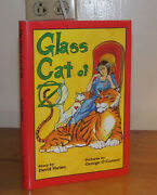 The Glass Cat Of Oz. Hulan. 1995. 1st Ed. Ltd 3/25 Signed Hand-colored Plate.