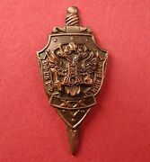 Russian Fsb Department For Naval Research Institute 20 Anniver. Lapel Pin Badge